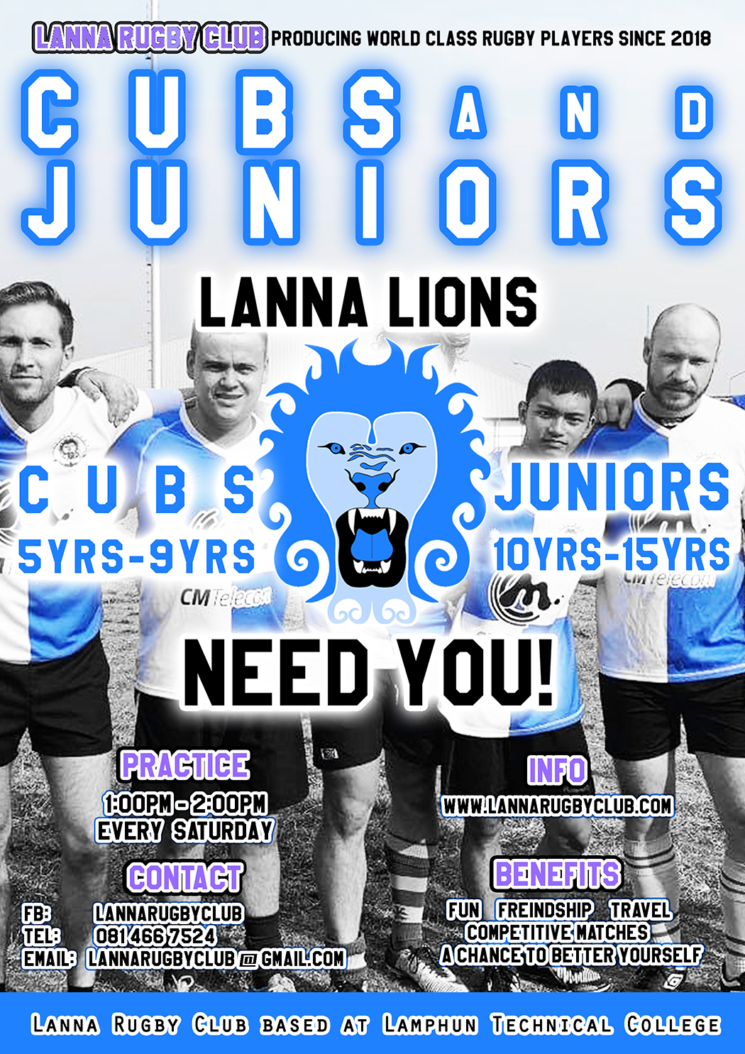 CUBS AND JUNIOR RUGBY LANNA RUGBY CLUB