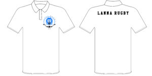 LANNA RUGBY CLUB POLO TOPS