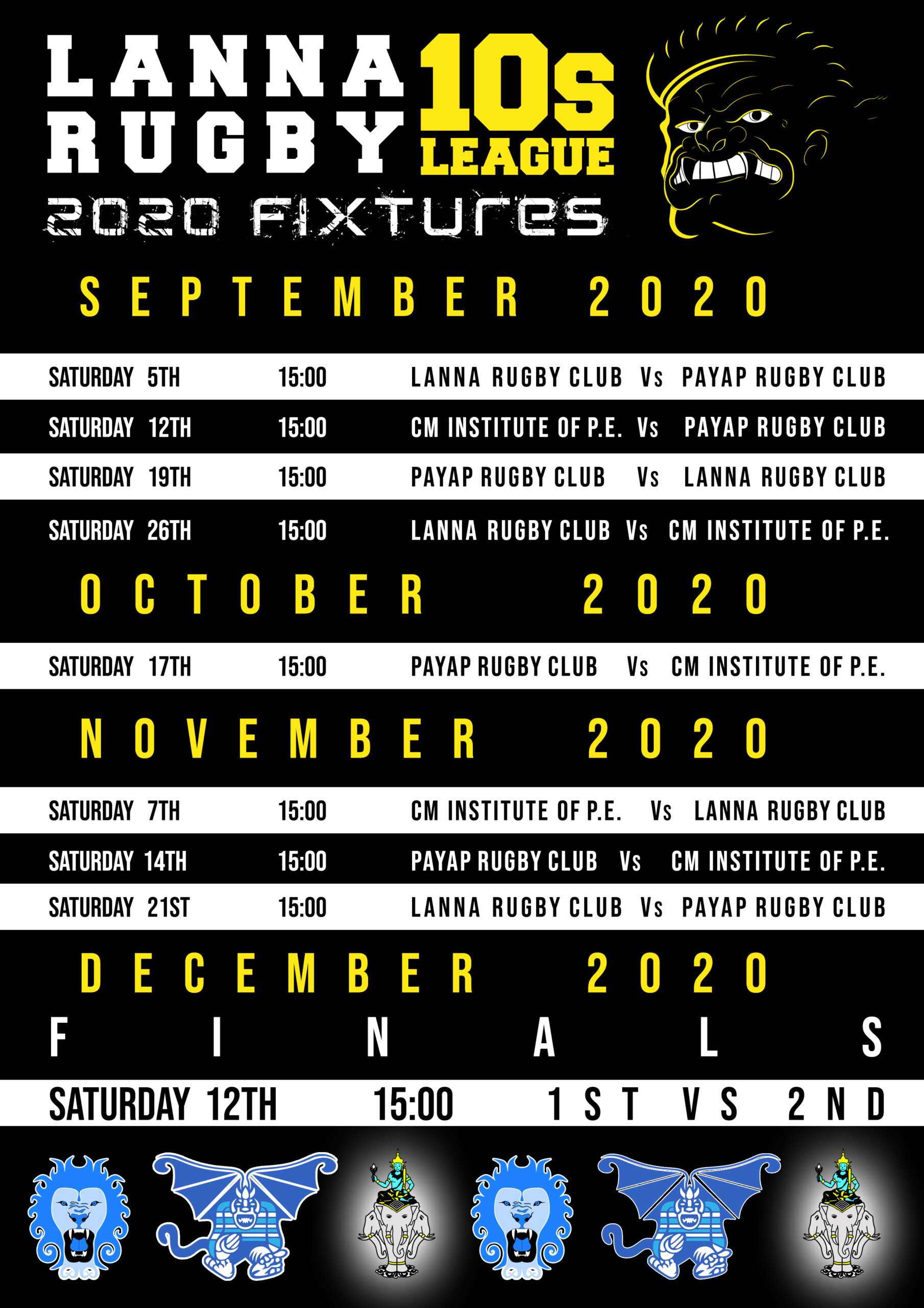 Lanna Rugby Tens League 2020-21